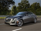 Photo of 2016 Cadillac CTS courtesy of GM.