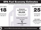 EPA fuel economy window sticker courtesy of Wikipedia.