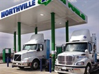 "As EDF sees it, even though trucks fueled by natural gas may be regarded as running green, methane is released to the atmosphere ""all along the value chain."""