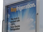 In addition to eliminating emissions, the Rayfrigeration unit is projected to reduce operations costs by up to 90%. Photo: eNow