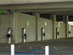 Photo of electric vehicle charging stations via M.O. Stevens/Wikimedia