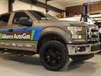 The Ford F-150 truck to be converted March 3. Photo courtesy of Alliance AutoGas.