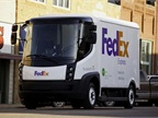 Photo of electric delivery van courtesy of FedEx.