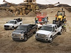 Photo of 2016 Super Duty lineup courtesy of Ford.