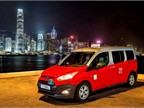 Photo of Transit Connect Taxi for Hong Kong courtesy of Ford.