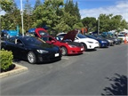 The event featured the latest electric vehicles from virtually all major manufacturers, giving more than 450 employee attendees an opportunity to drive several models. (PHOTOS: PG&E)