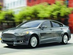 Photo of 2015 Fusion Hybrid courtesy of Ford.