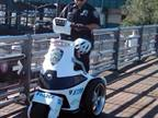 The NYPD will deploy the T3 Series Electric Stand-up Vehicle by T3 Motion, Inc.