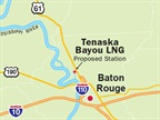 Proposed Location of Tenaska Bayou LNG: Graphic via Tenaska.