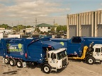 The City of Orlando already has compressed natural gas (CNG) refuse trucks in its fleet. Photo courtesy of City of Orlando