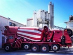 Photo of one of Ozinga's concrete mixers, courtesy of Ozinga Energy.