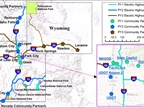 Map of planned electric corridors courtesy of rockymountainpower.net.
