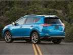 Photo of 2017 RAV4 Hybrid Limited courtesy of Toyota.