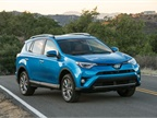 Photo of RAV4 Limited Hybrid courtesy of Toyota.
