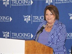Trillium President Mary Boettcher is bullish on the future of CNG in trucking. Photo by Evan Lockridge