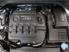Photo of 2015 Golf TDI engine courtesy of VW.
