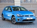 Photo of the 2015 e-Golf courtesy of Volkswagen.