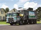 Photo of CNG refuse truck courtesy of Waste Industries.