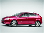ELECTRIC The Ford Focus Electric leverages the automaker s C-car