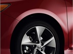 The wheels for the Camry SE.
