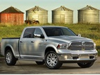 The new 3.0L EcoDiesel engine option on the Ram 1500 is matched with a new TorqueFlite eight-speed transmission. Photo courtesy Chrysler.