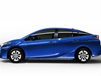 The 2016 Prius is 2.4 inches longer, 0.8 inch lower and 0.6 inch wider