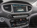 The Ioniq has enhanced connectivity features like Apple CarPlay and