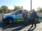 BAF had a bi-fuel Ford F-250 CNG pickup truck at the show. Photo by