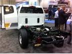 A closer look at the Chevrolet Colorado box-delete truck.