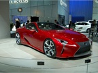 The Lexus describes its LF-LC as a hybrid sport coupe concept with a