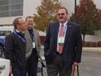 Dennis Carter, WM Greentech Automotive and Kelly Reagan, City of