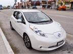 Fleet managers got a chance to drive a 2015 Nissan LEAF.