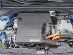 A 1.6-liter four-cylinder is paired with a 32 kW electric motor fed by
