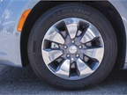 The vehicle s standard 17-inch wheels can be upgraded to 18-inch