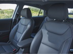 Front seats have leather seating surfaces and the driver s seat offers