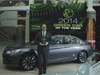 The 2014 Honda Accord was named the  Green Car of the Year  by Green