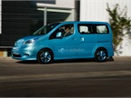 "Nissan said the e-NV200 Concept van is a ""near production"" model."