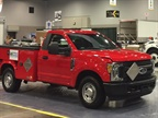 Alliance AutoGas technicians converted this F-150 to run on propane