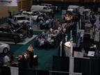 Attendees had opportunities to network in the exhibit hall during