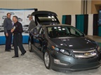 Ford brought its C-MAX Energi plug-in hybrid to the conference. Photo
