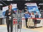 Mitsubishi Fuso Truck of America chief Jecka Glasman said electric