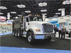 Navistar displayyed an array of heavy-duty International vocational