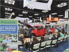 Alliance Autogas hosting a  live  vehicle converion on the show floor.