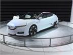 Honda s FCV concept hydrogen fuel-cell sedan