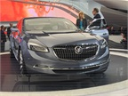 GM s Buick Avenir Concept luxury sedan borrows its name from the