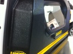 Ranger Design s new bulkhead is recessed to allow front seats to