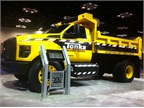 The mighty Ford F-750 Tonka truck is a collaboration between Ford and