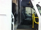 The new Velocity step van by Utilimaster allows drivers to pass