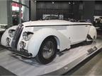 The 1935 Lancia Astura Cabriolet was powered by a narrow-angle V-8.