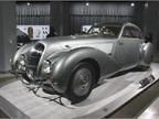 The 1938 Bentley 4 1/4-Liter Embiricos used aluminum body work to